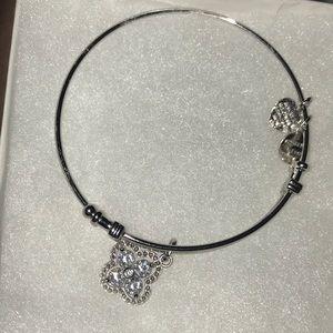 White Clear Cubic Zirconia Angelica bracelet